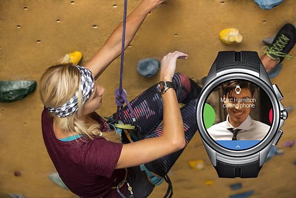 LG Watch Urbane 2nd Edition為首款支援LTE通話功能的Android Wear高科技手錶,行動生活無限聯繫。