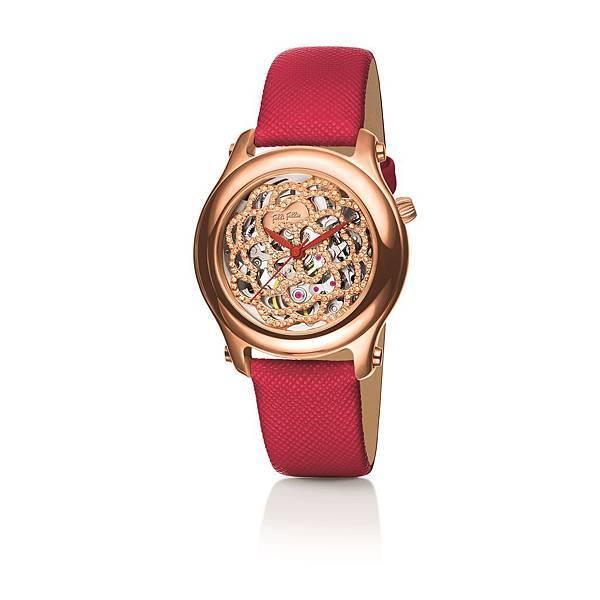 Santorini Flower Diaphanous系列腕錶 _價格未定