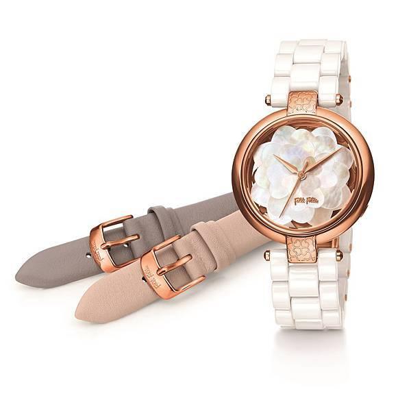 Santorini Flower Twist系列腕錶 _價格未定