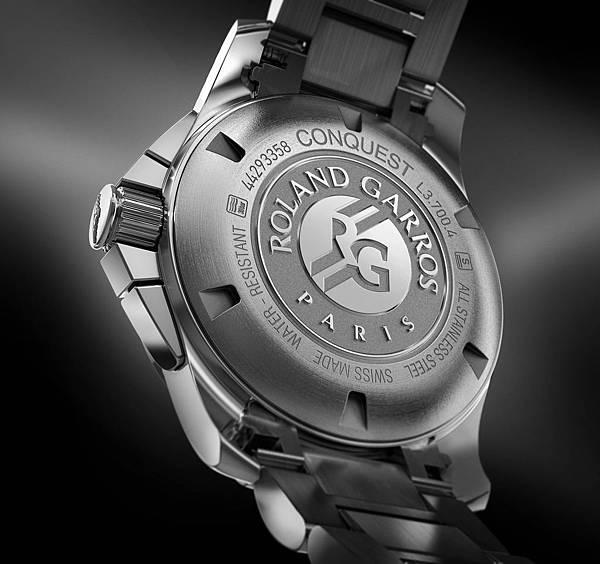浪琴表征服者系列1100th法網計時碼錶(L3.700.4.79.6)_錶背圖