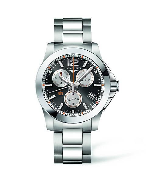 浪琴表征服者系列1100th法網計時碼錶(L3.700.4.79.6),建議售價NTD51,900