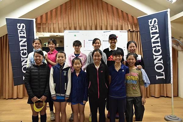 浪琴表決戰法網 明日之星選拔賽每年都吸引許多傑出的年輕網球選手參賽。
