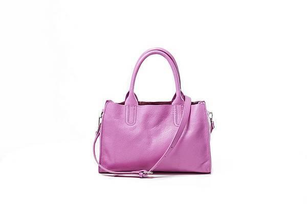 圖9_ aBoutmi桃紅粉彩漾手提肩背兩用托特包,建議售價NT4,580
