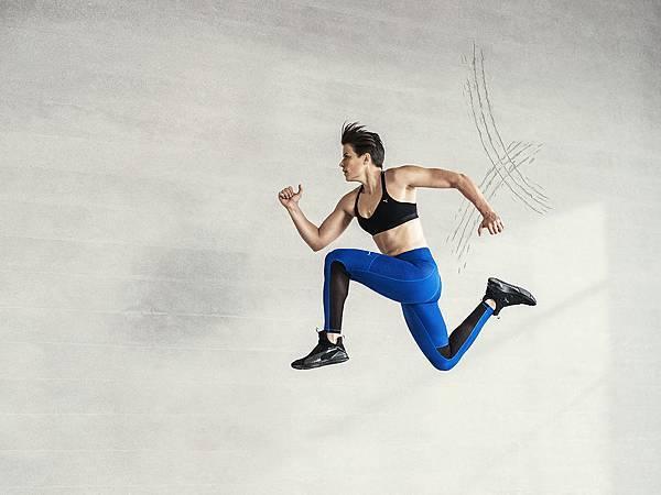 2016年PUMA推出全新女性訓練鞋款Fierce Core,具備輕盈感的無鞋帶訓練鞋