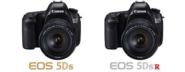 圖說一,Canon 於2015年6月推出具有5,060萬超高像素的EOS 5DS及EOS 5DS R,再次榮獲第13年銷售量全球市場佔有率第一位