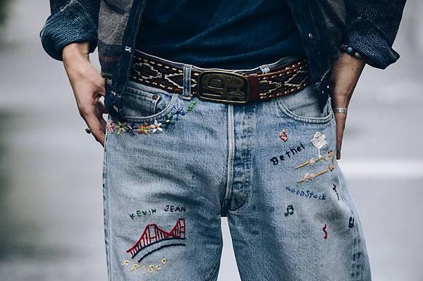 造型裁縫服務上除了布章車縫外 還有文字圖騰電繡和手工刺繡服務能夠展現更精采的個人化創作