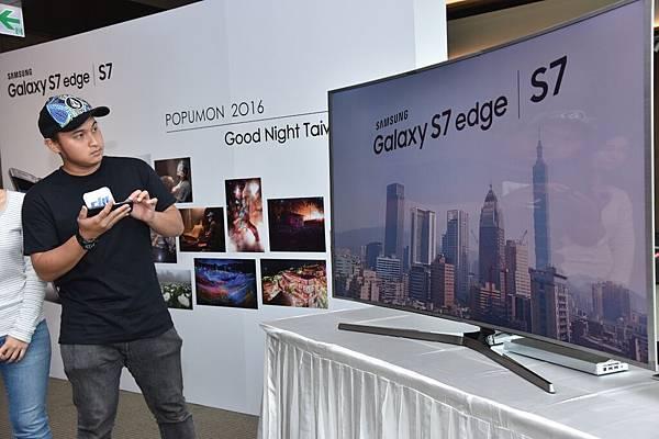 Theerasak Saksritawee驚奇地表示,Galaxy S7 edge就算在昏暗光線下所拍出來的照片一樣令人屏息!