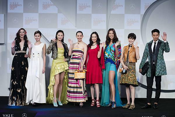 凱渥名模聯合展演八大國際精品品牌