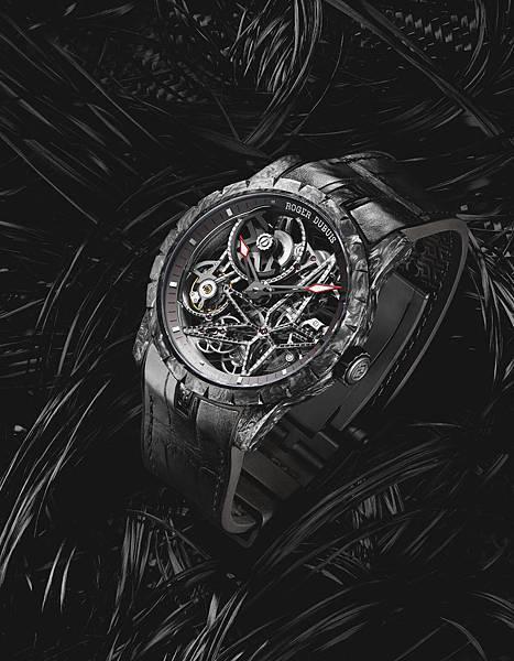Excalibur 自動上鍊碳纖維錶殼形象圖 NT.2,145,000