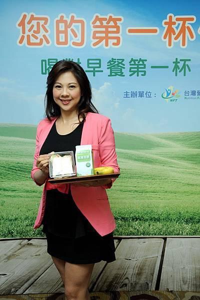 李婉萍營養師提醒,慎選早餐飲料來源,才能喝得更健康安心
