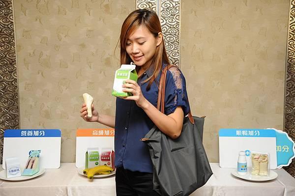 高纖加分:每天衝衝衝的上班族,可選擇高纖的豆漿與香蕉作為一日早餐,能快速補充活力與飽足感