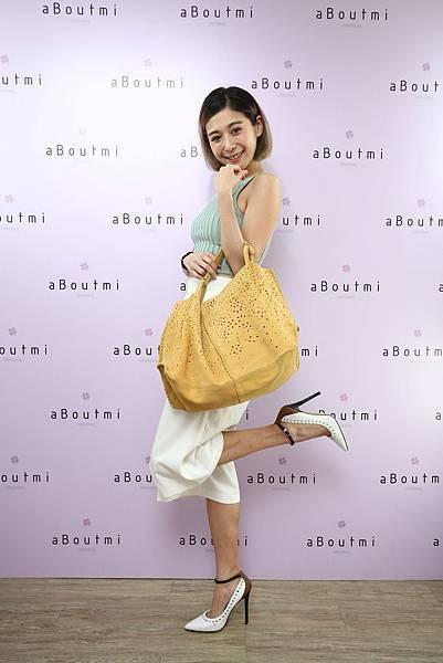 圖12_知名女星Albee參與精品女包aBoutmi showroom開幕盛會