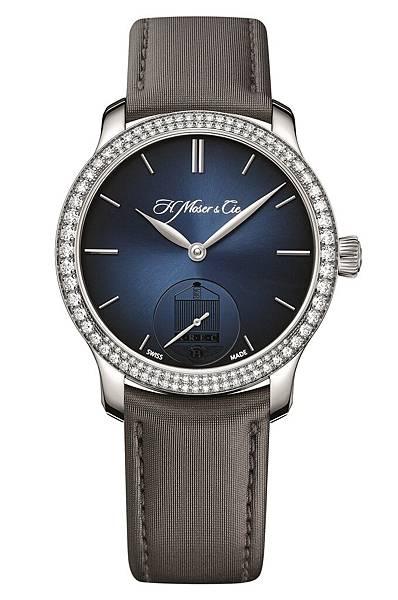 5. 勞斯萊斯車迷俱樂部限量版腕錶-勇創者小秒針 帶鑲鑽錶圈_建議售價NT$880,000