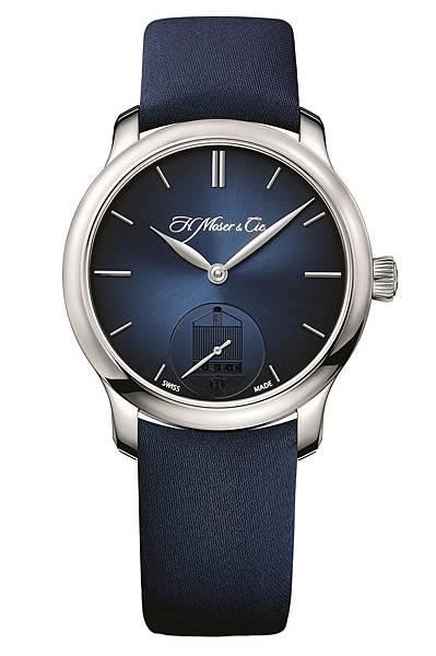 6. 勞斯萊斯車迷俱樂部限量版腕錶-勇創者小秒針 無鑲鑽錶圈_建議售價NT$580,000