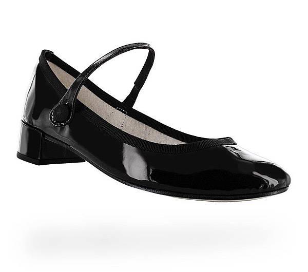 黑色漆皮瑪莉珍鞋售價NT$12500