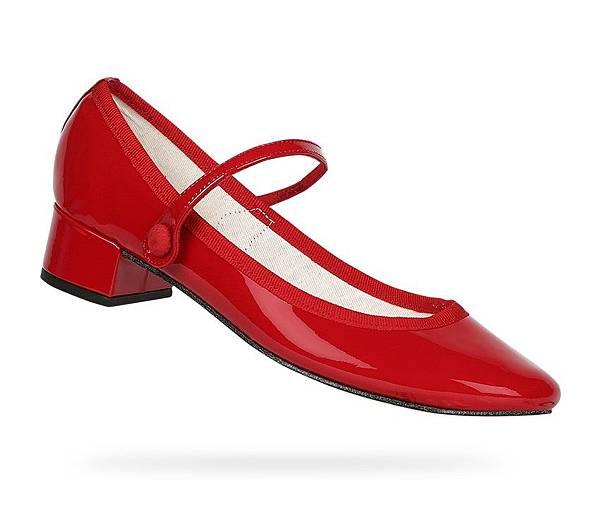 紅色漆皮瑪莉珍鞋售價NT$12500