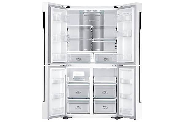 三星全新663公升櫥櫃型三循環多門旗艦系列冰箱超省空間 容量加大機身依然纖薄時尚。