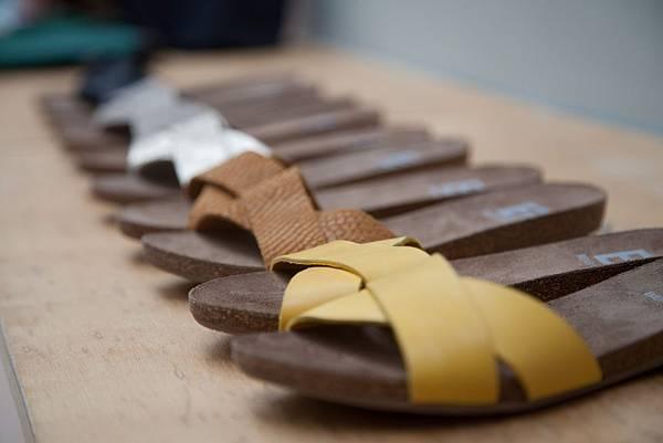 皮革涼鞋系列