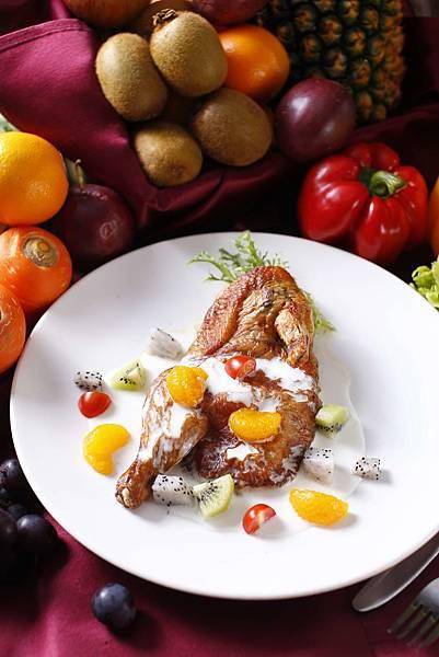 【成旅晶贊飯店台北蘆洲】仲夏蔬果鮮肉派對吃到飽$599 主菜水果醃烤春雞
