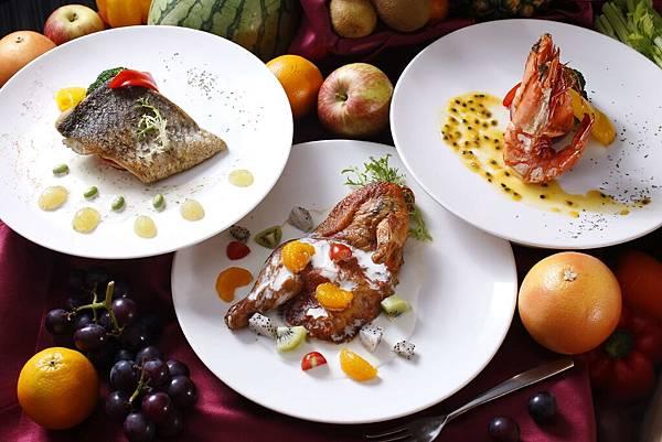 【成旅晶贊飯店台北蘆洲】仲夏蔬果鮮肉派對吃到飽$599 主菜3選1