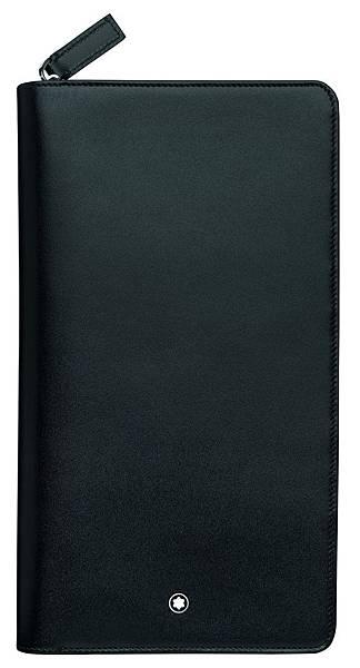 114534 萬寶龍Meisterstück大師傑作經典系列黑色旅行皮夾,NT$16,600
