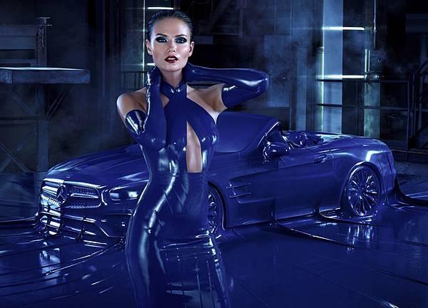 Mercedes-Benz 2016秋冬時尚形象廣告The new SL與超模Natasha Poly攜手性感演繹 (2)