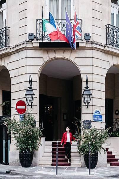 圖1. 天梭表全球形象大使劉亦菲現身法國巴黎