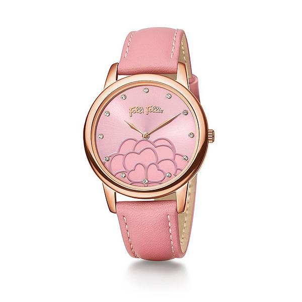 Santorini Flower Half系列腕錶(NT$6,090)WF15R035SSP_PI