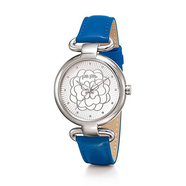 Santorini Flower Classy系列腕錶(NT$6,490)WF15T030SPW_BL