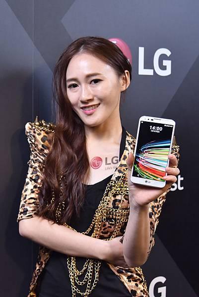 LG X Fast(X5)讓消費者能夠使用3CA網路盡享極速傳輸快感。