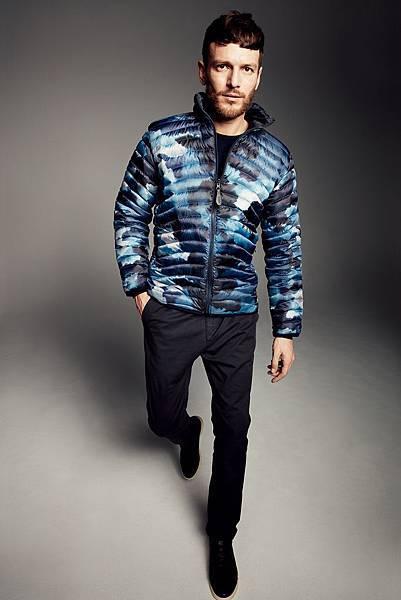 【AIGLE】AIGLE 2016秋冬商品,男款商品上則採用個性風格十足的暈染迷彩與各式印花圖案