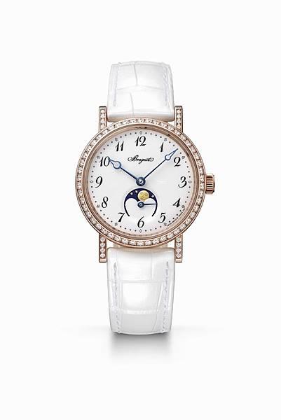Classique Phase de Lune Dame 9088月相腕錶玫瑰金款,建議售價NT$909,000