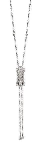 15. BURLESQUE舞孃白金鑲鑽項鍊,建議售價:NTD 334,000
