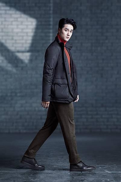 3. 蔣勁夫穿著Z Zegna Icon Warmer 系列休閒外套