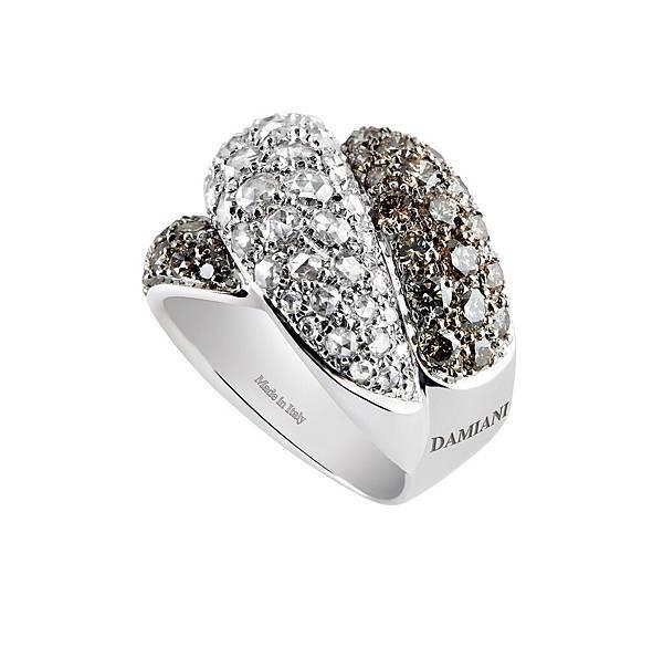 5. GOMITOLO彩寶系列黑白寶石戒指,代表城市米蘭,建議售價NT$ 519,000