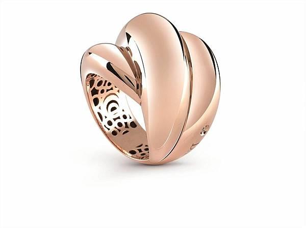 2. GOMITOLO繽紛毛線球系列玫瑰金戒指,建議售價 請店洽