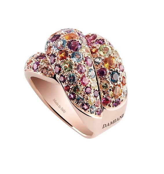3. GOMITOLO彩寶系列戒指,代表城市威尼斯,建議售價NTD$ 259,000