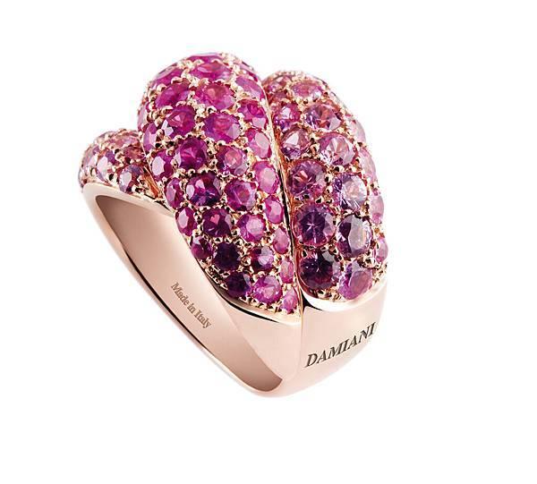 4. GOMITOLO彩寶系列紅寶石戒指,代表城市芬諾,建議售價NTD$ 454,000