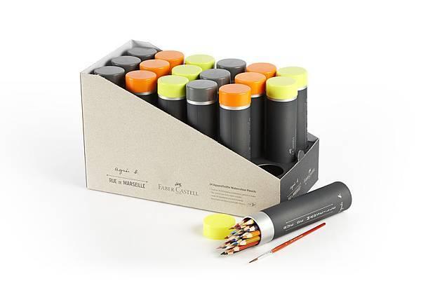 agnès b. 40 週年限量彩色鉛筆組-1