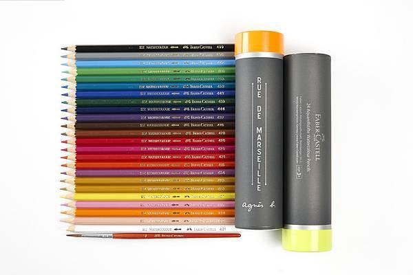 agnès b. 40 週年限量彩色鉛筆組-4