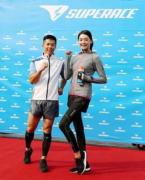 王心恬出席SUPERACE品牌發表 12月將挑戰吳哥窟111公里馬拉松