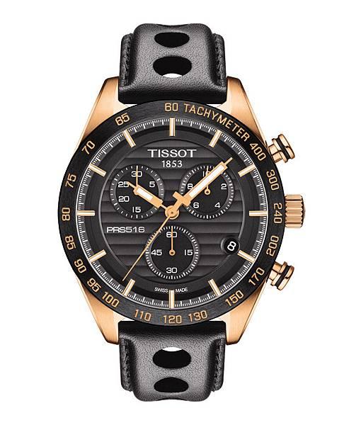圖一 天梭律馳PRS 516系列腕錶-石英計時款