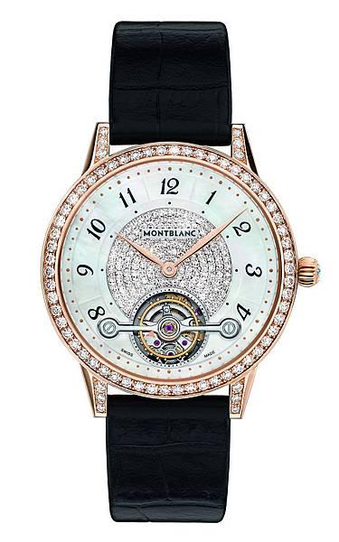 114737 萬寶龍Boheme寶曦系列外置陀飛輪超薄珠寶腕錶,NT$1,500,400