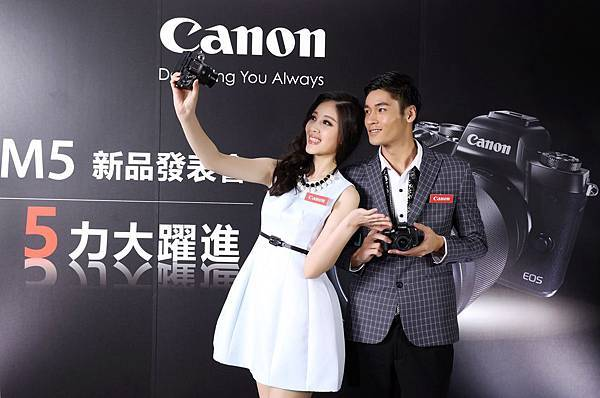 圖說二Canon EOS M5透過「捕捉力」、「操控力」、「解像力」、「穩定力」、「擴充力」的大幅提升,充分展現【5力大躍進】的極致表現。