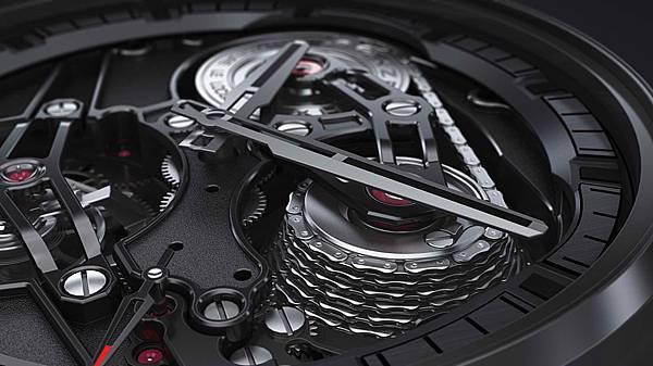 ZENITH Academy Tourbillon GFJ黑色陶瓷腕錶情境圖_01