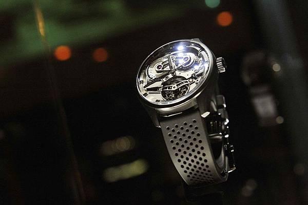 ZENITH Academy Tourbillon Georges Favre-Jacot黑色陶瓷腕錶_現場情境圖01