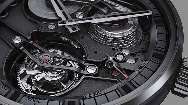 ZENITH Academy Tourbillon GFJ黑色陶瓷腕錶情境圖_02
