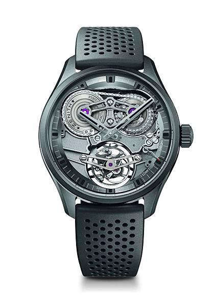ZENITH Academy Tourbillon GFJ黑色陶瓷腕錶_49.2520.480598.R576_建議售價NTD2,651,000...