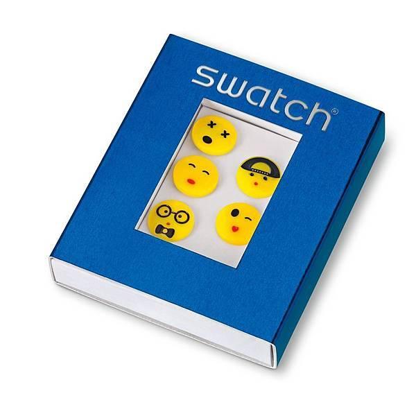 Emoji小臉扣組 (1組5個) NT$320_1
