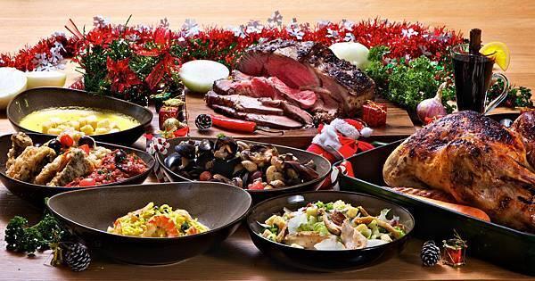 台北松山意舍酒店聖誕饗宴